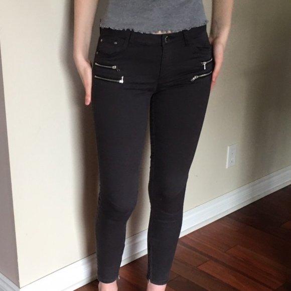 Zara Z1975 low rise skinny jeans